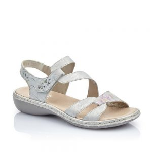 Rieker 65969-82 Ladies Sandals with Hook and Loop Fastening