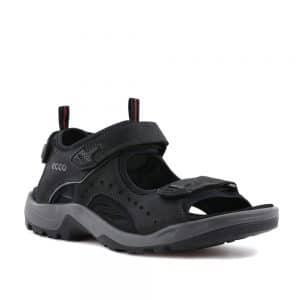Ecco Offroad Black. Premium Leather Sandals
