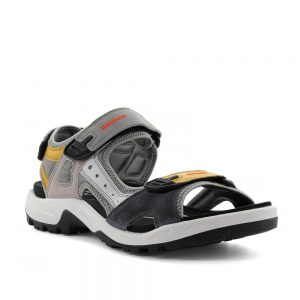 Ecco Offroad Multicolor Merigold. Premium Leather Sandal