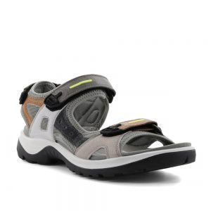 Ecco Offroad Multicolor Volluto. Premium Leather Sandals