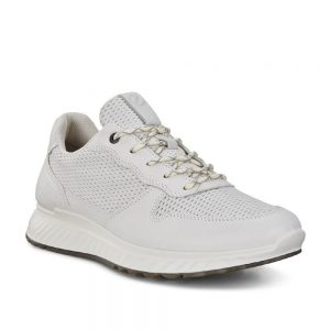 Ecco ST. 1 M White. Premium White Leather Shoes