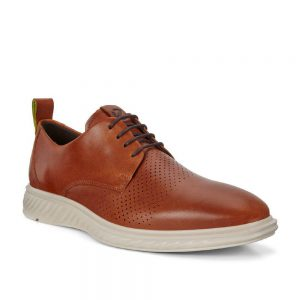 Ecco ST.1 Hybrid Lite Amber. Premium Leather Shoes