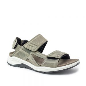 Ecco X-Trinsic M Warm Grey. Premium Leather Sandals
