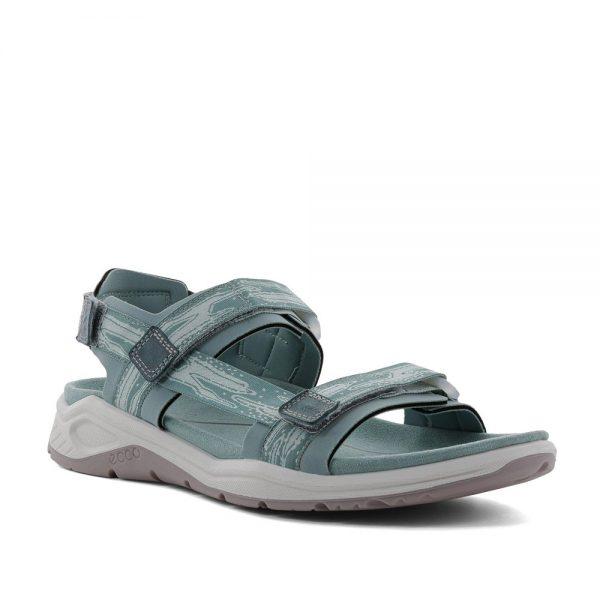 Ecco X-Trinsic W Eggshell Blue. Premium Leather Sandals