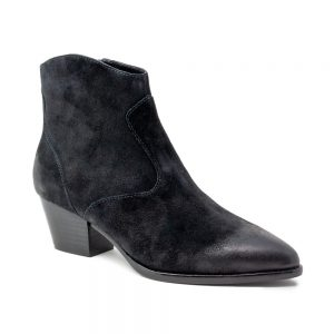 Ash Heidi Bis Boots Brushed Black Suede