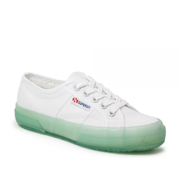 Superga 2750 COTUTRANSPARENTSOLE White Soft Azure