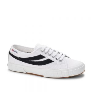 Superga 2953 Swallow Tail Cotu White Black