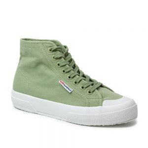 Superga 2295 COTW Green Sage. Premium Cotton Trainers
