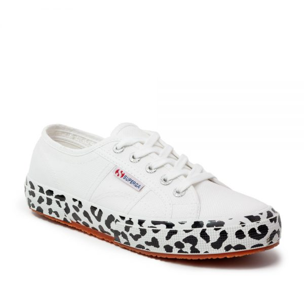 Superga 2750 COTW Printed Foxing White Leopard