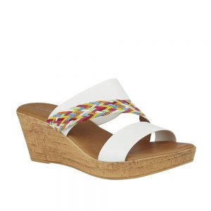 Lotus Jezebel White Multi Premuim Sandal
