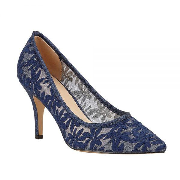 Lotus Briony Navy Premium Heigh Heels.