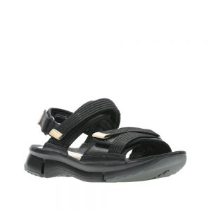 Clarks Tri Walk. Premium Leather Sandals
