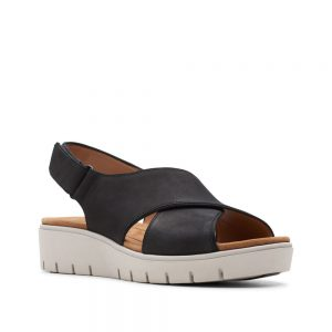 Clarks Un Karely Sun. Premium Nubuck Shoes