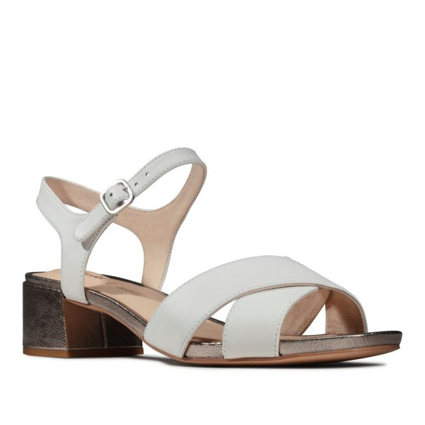 Clarks Sheer 35 Strap. Premium Leather Sandals