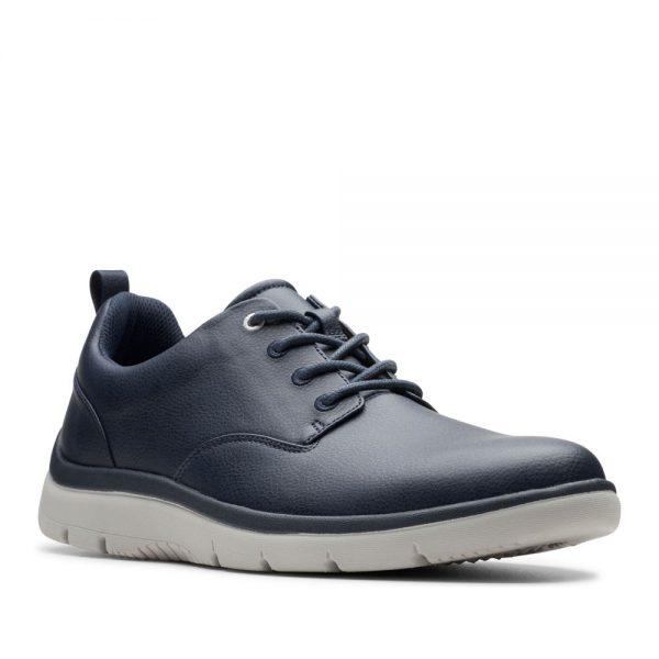 Clarks Tunsil Lane. Premium Dark Blue Shoes