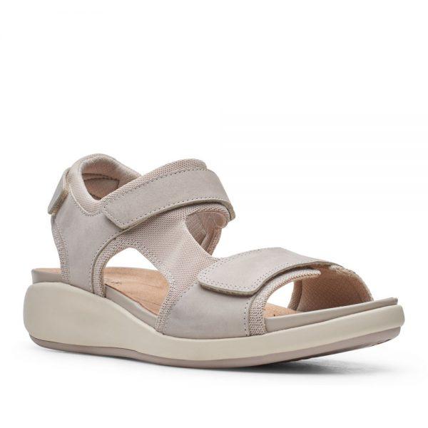 Clarks Un Bali Trek. Premium Nubuck Sandals