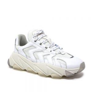 Ash Extreme White. Premium White Trainers