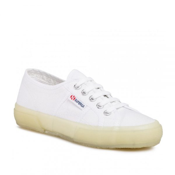 Superga 2750 Jellygum Cotu White Green LT