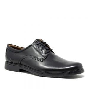 Clarks Un Aldric Lace Black. Premium Shoes