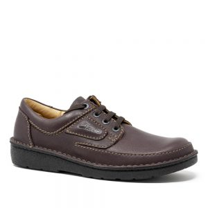 Clarks Nature II Brown. Premium Brown Leather Shoes