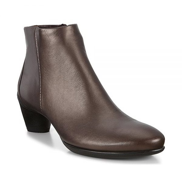 Ecco Sculptured 45 Brown. Premium Leather Shoes
