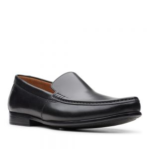 Clarks Claude Plain Black