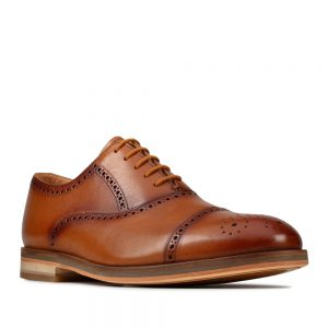 Clarks Oliver Limit Tan Leather