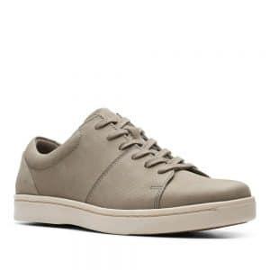 Clarks Kitna Vibe. Premium Sage Nubuck Shoes