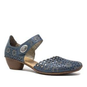 Rieker 43753-12 Blue Sandals