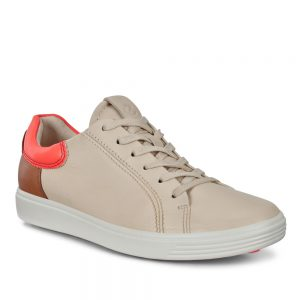 Ecco Soft 7. Premium Leather Womens Sneakers