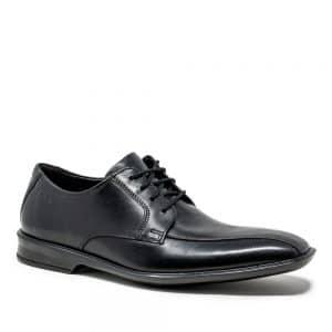 Clarks Bensley Run Black Leather