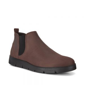 Ecco Bella Black Ankle Boot Chocolate