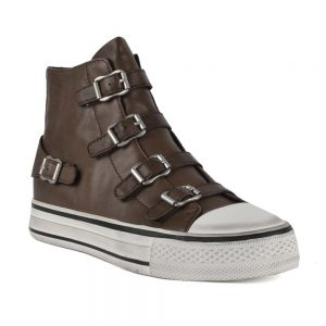 Ash Virgin Brown Leather