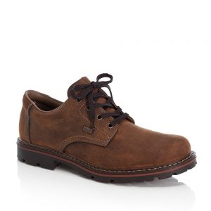 Rieker 17710-26 Men's Brown Lace Up Shoes