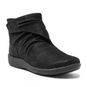 Clarks Sillian Tana Black Synthetic