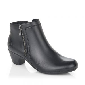 Rieker 70551-00 Ladies Black Boots