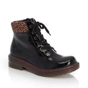 Rieker 76212-00 Ladies Black Boots