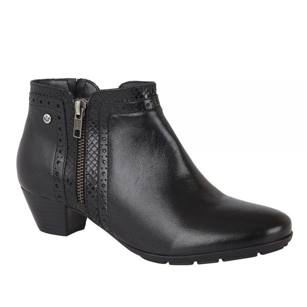 Lotus Dancer Ankle Boots