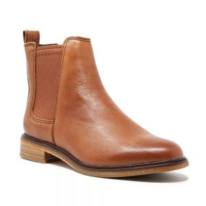 Clarks Clarkdale Arlo Tan Leather