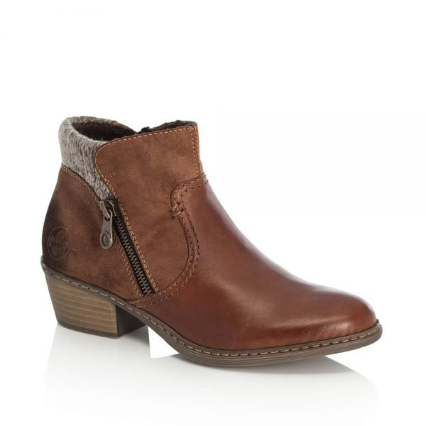 Rieker 55591-24 Ladies Ankle Boots