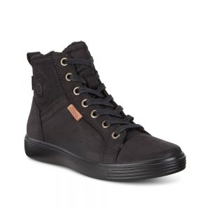 Ecco S7 Teen Black Sneaker Ankle