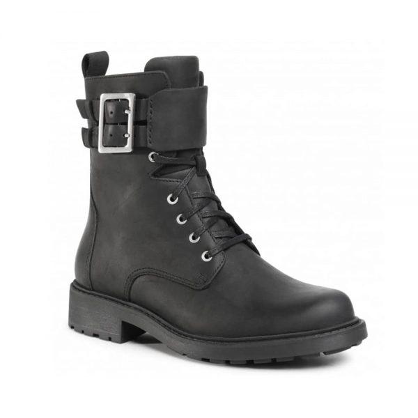 Clarks Orinoco2 Black Leather