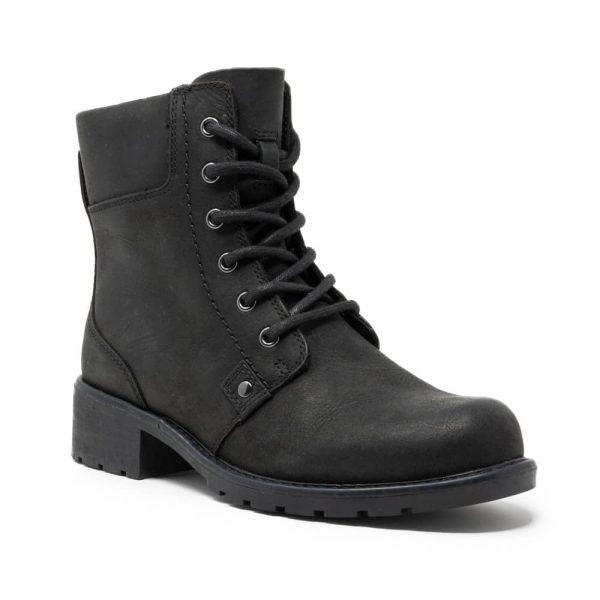 Clarks Orinoco Spice Black Leather