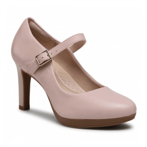 Clarks Ambyr Shine Dusty Rose