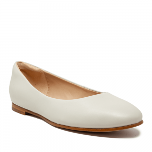 CLARKS Grace Piper White Leather