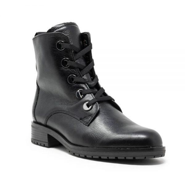 Gabor Premium Black Leather Shoes