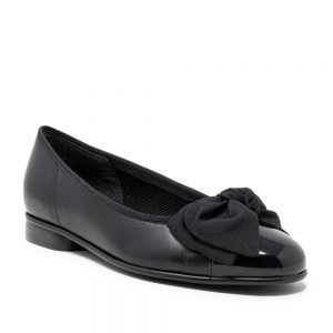 Premium Black Leather Wome's Shoes