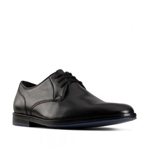 Clarks Citi Stride Lace Black Combination