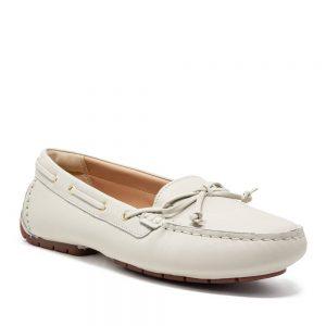 Clarks C Mocc Boat2 White