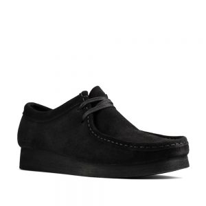 Clarks Wallabee 2 Black Suede